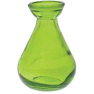 Reed Diffusers Green Teardrop Bottle / Reed Aromatherapy Diffusers