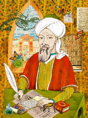 Painting of Avicenna