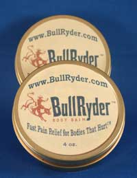 BullRyder Body Balm  - Foot Pain Relief
